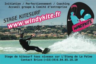 Windykite, Ecole de Kitesurf à Leucate